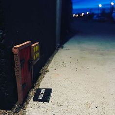 Night Shots - Some of you followers have been posting your own dramatic, night time pictures of Mows doors. Here are a few of my favorites. .  .  #art #doors #graffiti #streetart  #urbanart #flashesofdelight #instagood #picoftheday #photooftheday #miniature #sculpture #fairydoor #minneapolis #minnesota #twincities #night #nightphotography