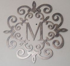 Familie Initial Monogramm Antik Look 20 alle Buchstaben von Tibi291