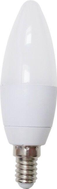 BECUL LED E14 3W LUMANARE C35 MAT este echivalentul becului incandescent de 25W E14. Forma de lumanare poate fi folosita atat cu rol estetic al un corp de iluminat tip candelabru sau functional pentru o aplica / plafoniera cu un spatiu mic pentru bec.