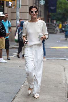 Top looks. De plataformas, pantalones 'culottes' y Victoria Beckham                                                                                                                                                     Más