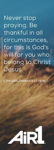 Read the Bible verse of the day and have it emailed to you - Air1 - Positive Hits