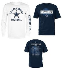 eb95b8409 Dallas Cowboys 3-in-1 T-Shirt Combo Nfl Dallas Cowboys