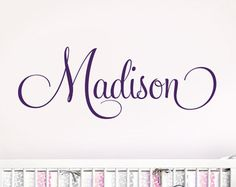Personalized Name Wall Decals
