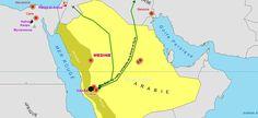 Le Califat Abu bakr 632-633,  via Wikimedia, License CC