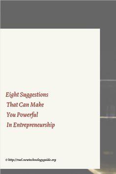 Entrepreneurs: The Ninja Way