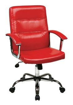Office Star Office Chair - Pin it :-) Follow us  :-)) AzOfficechairs.com is your Office chair Gallery ;) CLICK IMAGE TWICE for Pricing and Info :) SEE A LARGER SELECTION of  officestar office chair at  http://azofficechairs.com/?s=office+star+office+chair -  office, office chair, home office chair -  Office Star Avenue Six Malta Office Chair in Red « AZofficechairs.com