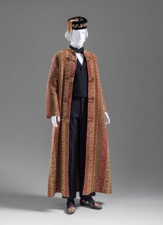 Dressing Gown 1880 The Los Angeles County Museum of Art 1880s Fashion, Vintage Fashion, Men's Fashion, Smoking, Adventure Outfit, Gibson Girl, Period Outfit, Historical Clothing, Men's Clothing