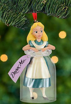 Disney Alice in Wonderland Christmas ornament Disney Christmas Ornaments, Hallmark Ornaments, Christmas Time, Christmas Decorations, Holiday Tree, Christmas Crafts, Xmas, Deco Noel Disney, Adventures In Wonderland