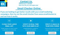 If you are looking to get better results with your email marketing campaigns, then try out the email checker from https://www.emailchecker.io/ and see how it works.