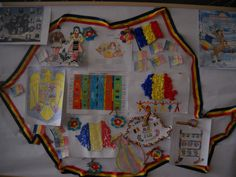 "Ghirlanda tricolora ""ce ne place in Romania"" - SuntParinte. Kindergarten Classroom Setup, 1 Decembrie, Diy And Crafts, Projects To Try, Montessori, School, Pictures"