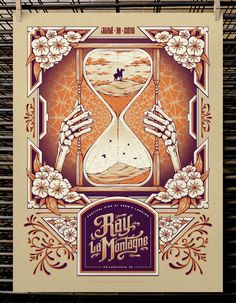 Half Hazard Press Ray LaMontagne and Guided By Voices Posters