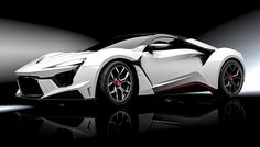 UAE's W Motors shows off its $3.4 million Lykan HyperSport and new $1.85 million…