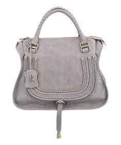 Take a look at this Nancy Kyoto Gray Anna Tote on zulily today!
