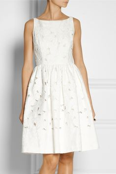 Dolce & Gabbana | Cutout floral-brocade dress | NET-A-PORTER.COM