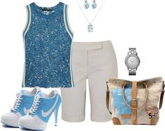 """""""Tudo blue"""" by sil-engler on Polyvore"""