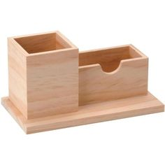 Organizador de escritorio rectangular 2 piezas - Fotografía n°1