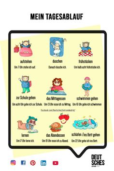 Study German, Learn German, Deutsch Language, Germany Language, German Grammar, German Language Learning, Grammar And Vocabulary, Study Tips, Kids Education