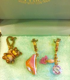 RARE Authentic 2006 Juicy Couture CHARMS SET-RETIRED Charms YJRU0650 #JuicyCouture #Traditional