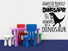 Hard-Working Funtosee Dinosaur Wall Decals Baby Nursery Décor Dinosaur Theme