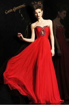 vestido largo graduación- HIVL28458