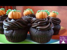 Cupcakes para halloween - YouTube