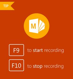 Add quality audio and video to your PowerPoint presentations quickly and easily with this helpful Office Mix tip! And, for a complete list of recording, digital ink, and presentation shortcuts, check out this resource! #MSFTEDU