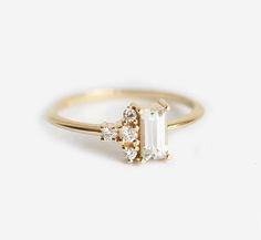 Die 75 Besten Bilder Von Baguette Ring In 2018 Jewelry Rings
