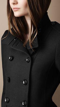 127d9802633e Wool Twill Dress Coat
