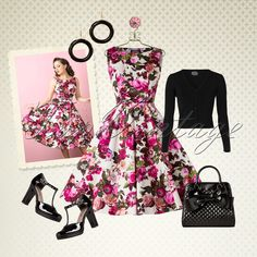 Brighten up these colder days with this elegant look!