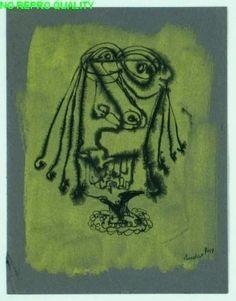 Lucebert 1947 (zonder titel) - Stedelijk Museum Amsterdam