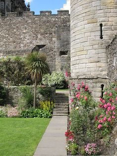 Stirling Castle, Scotland. It has gorgeous terraced gardens which I loved exploring.