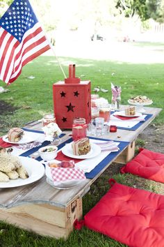 Red, White, and Blue Picnic