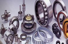 Ball bearing is very common bearing, which are used to handle both radial and thrust load. Read here for more details.