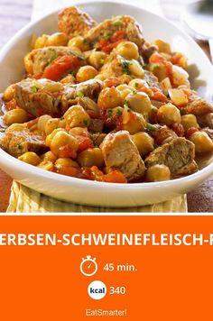 Kichererbsen-Schweinefleisch-Pfanne - smarter - Kalorien: 340 Kcal - Zeit: 45 Min. | eatsmarter.de
