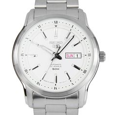 Chronograph-Divers.com - Seiko 5 Japan Analog Silver Stainless Steel Case Mens Dress Watches SNKP09J1 SNKP09, $164.00 (https://www.chronograph-divers.com/seiko-5-japan-analog-silver-stainless-steel-case-mens-dress-watches-snkp09j1-snkp09/)
