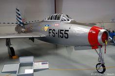 /by g_takeuchi #flickr #plane #1950s #Republic #F84 #Thunderjet