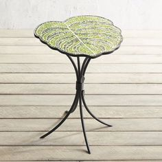 Leaf Mosaic Accent Table | Pier 1 Imports