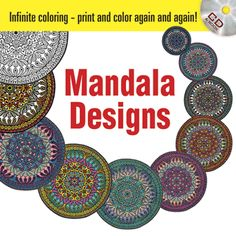 Based on ancient motifs, 48 original designs feature circles, squares, triangles, and other geometrical figures rotating around a common center. The enclosed CD-ROM includes all of the book's illustrations.