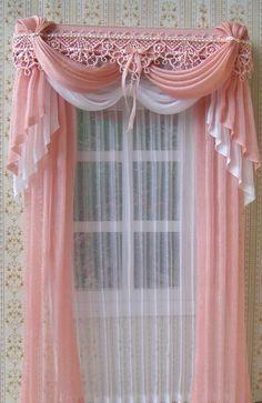 Miniature 1:12 Dollhouse curtains to order by TanyaShevtsova