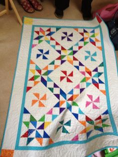 Love this for a baby quilt