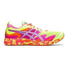 Asics Running Shoes, Running Sneakers, Triathlon, Boutiques, Yellow Dragon Fruit, Asics Gel Noosa, Racing Shoes, Lightweight Running Shoes, Yellow