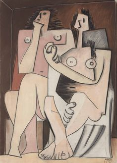 'Homme et femme' (1921) by Pablo Picasso