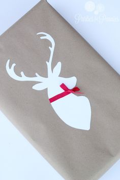 Fun Deer Silhouette Wrapping!