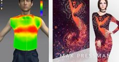 Art meets garment design, virtual reality and 3D garment construction. Max Pressman and Voo Doo Fuzz collab with Lobal Technologies
