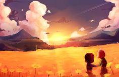 Sunrise by Razzleluff