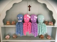 Preemie Premature baby octopus toy with by CountryHatsAndThings