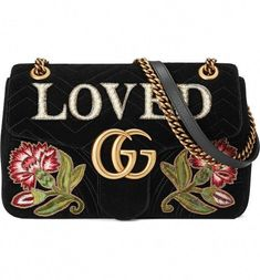 f4dadfe52ee Main Image - Gucci GG Marmont Loved Velvet Shoulder Bag  Guccihandbags  Chevron Purse