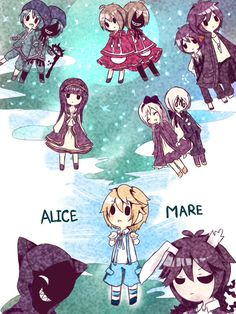 Maker Game, Rpg Maker, Yandere, Game Character, Character Design, Alice Mare, Mad Father, Corpse Party, Rpg Horror Games