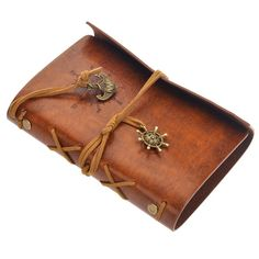 """Vintage pu leather notebook journal diary. Ships within 1.5 weeks. Dimensions : 5.10"""" Lx3.10"""" W King Accessories"""