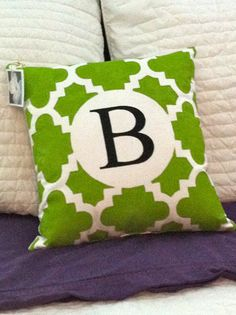 Small Hand Painted Green and White by graceadkinsdesigns on Etsy, $42.00